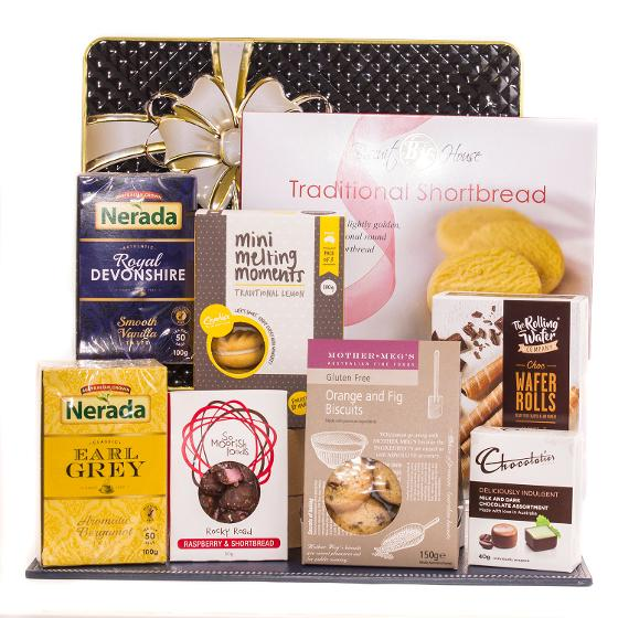 Tea and Sweets Hamper product photo Internal 1 DETAILS