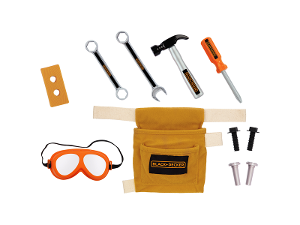 Black & Decker Kids Tool Belt Set product photo
