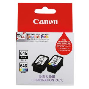 Canon Ink Cartridge PG645 and CL646CP Twin Pack product photo