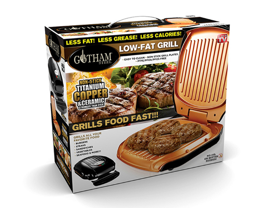 Gotham Low Fat Grill product photo Internal 2 DETAILS