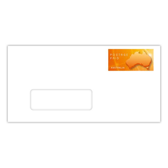 Small DL window-face prepaid envelope up to 250g - Box of 500 product photo Internal 1 DETAILS