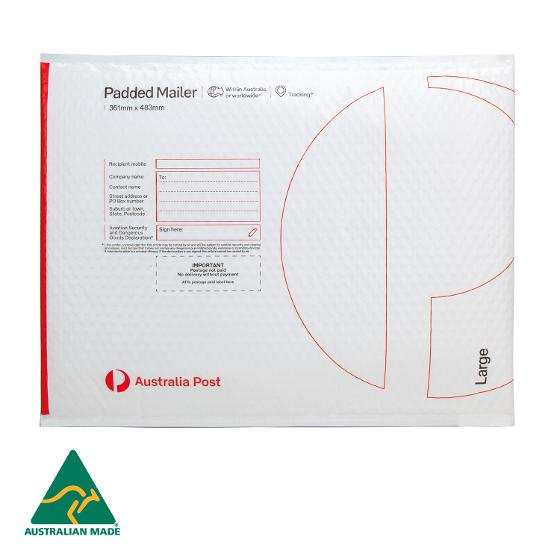 Padded Mailer - Large - 483 x 361mm - 60 pack product photo Internal 2 DETAILS