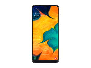 Optus Samsung Galaxy A30 product photo