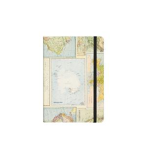 Typo A5 Buffalo Journal - Grid World Map product photo