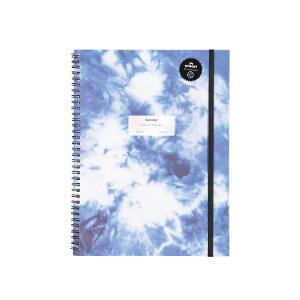 Typo A4 Spinout Notebook - Tie Dye product photo