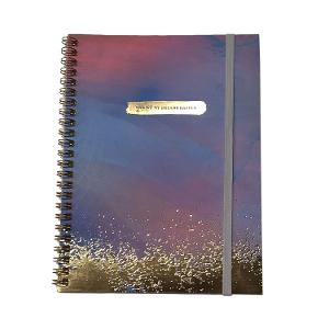Typo Recycled A5 Spinout Notebook - Making Dreams Happen product photo