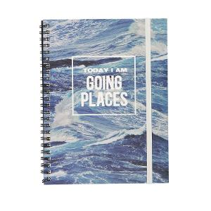 Typo A5 Spinout Notebook - Going Places product photo