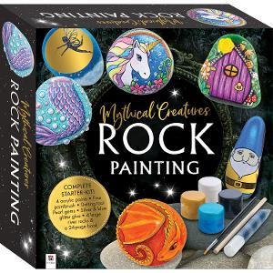 Mythical Creatures Rock Painting product photo
