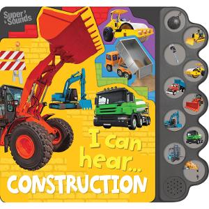 10 Button Sound Books - I can hear Construction product photo