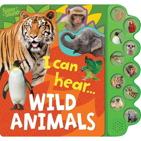 10 Button Sound Books - I can hear Wild Animals product photo Internal 1 DETAILS