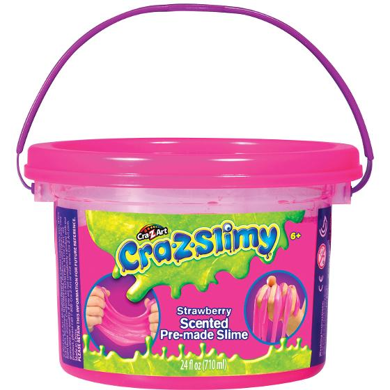 CraZSlimy Tubs - Strawberry product photo Internal 1 DETAILS