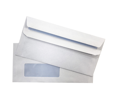 DL Window Face Press and Seal Envelopes - Box of 500 product photo Internal 2 DETAILS