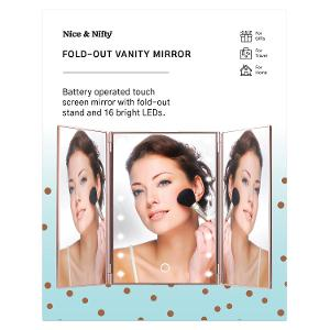 Nice & Nifty - Fold Out Vanity Mirror product photo