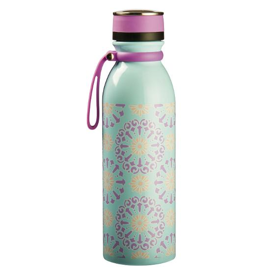 Nice & Nifty - Stainless Steel Drink Bottle - Purple/Blue product photo Internal 1 DETAILS