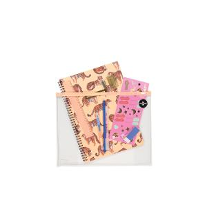 Typo A4 Stationery Kit - Leopard product photo
