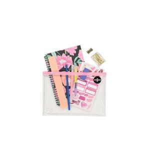 Typo A5 Stationery Kit - Wild Peony Floral product photo