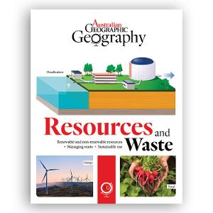Australian Geographic: Resources and Waste product photo