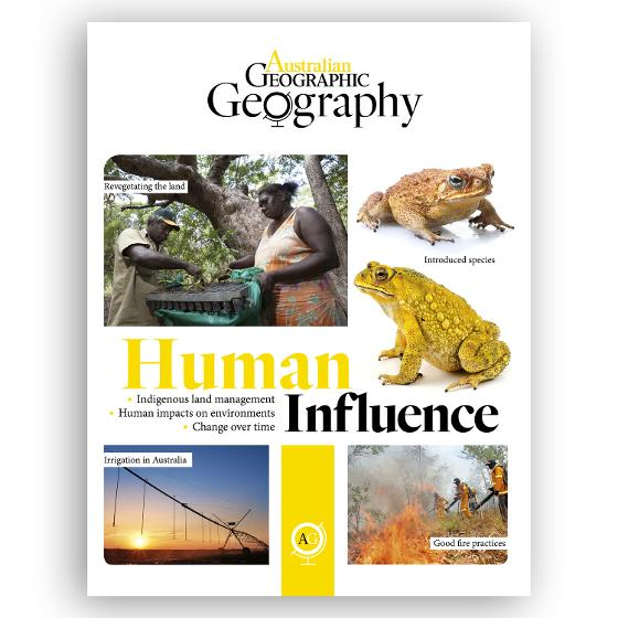 Australian Geographic: Human Influence product photo Internal 1 DETAILS
