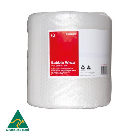 Bubble Wrap - 280mm x 25m (BW4) - 2 pack product photo Internal 2 DETAILS