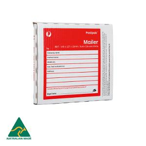 Mailing Box (BX7) CD Mailer - 145 x 127 x 10mm - 20 pack product photo