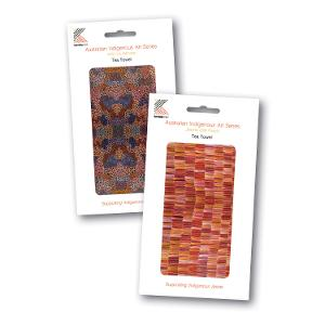 Australian Indigenous Art Series Printed Tea Towel product photo