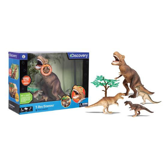 Dinosaur Set 5pc TRex product photo Internal 3 DETAILS