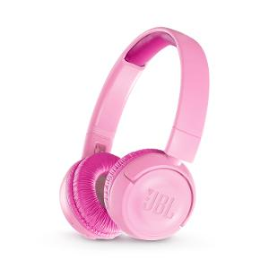 JBL Kids Wireless On-Ear Headphones - Pink product photo