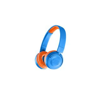 JBL Kids Wireless On-Ear Headphones - Blue/Orange product photo