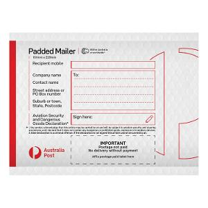 Padded Mailer (PM1) - 151 x 229mm - 100 pack product photo