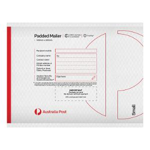 Padded Mailer - Small - 240 x 340mm - 100 pack product photo