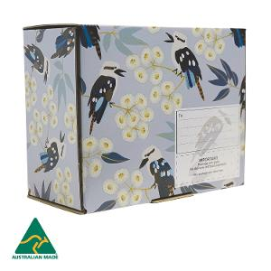 Jocelyn Proust Kookaburra Medium Themed Parcel Box - 5 pack product photo