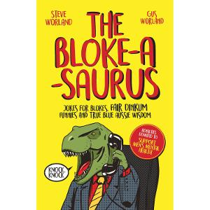 Dad Joke Books - Bloke-a-Saurus product photo