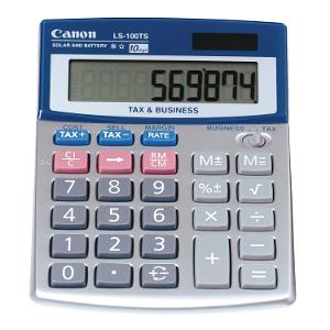 Canon Calculator LS100TS product photo