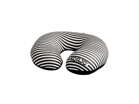 Squinchy Pillow - Striped (Black) product photo Internal 1 DETAILS