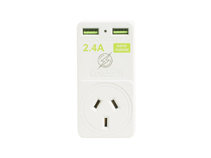 USB Power Adaptor Home & US product photo