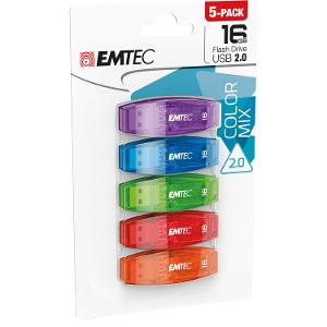 Emtec 16GB USB 5 Pack product photo