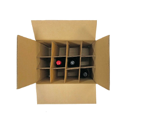 12 Bottle Wine Box - 5 pack product photo
