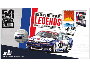 Holden 1996 VR Commodore postal numismatic cover product photo