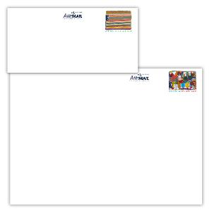 Set of Art of the Desert international postage paid envelopes product photo