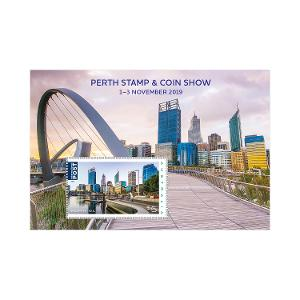 Perth Stamp and Coin Show November 2019 minisheet product photo