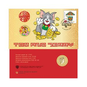Tom and Jerry postal numismatic cover product photo
