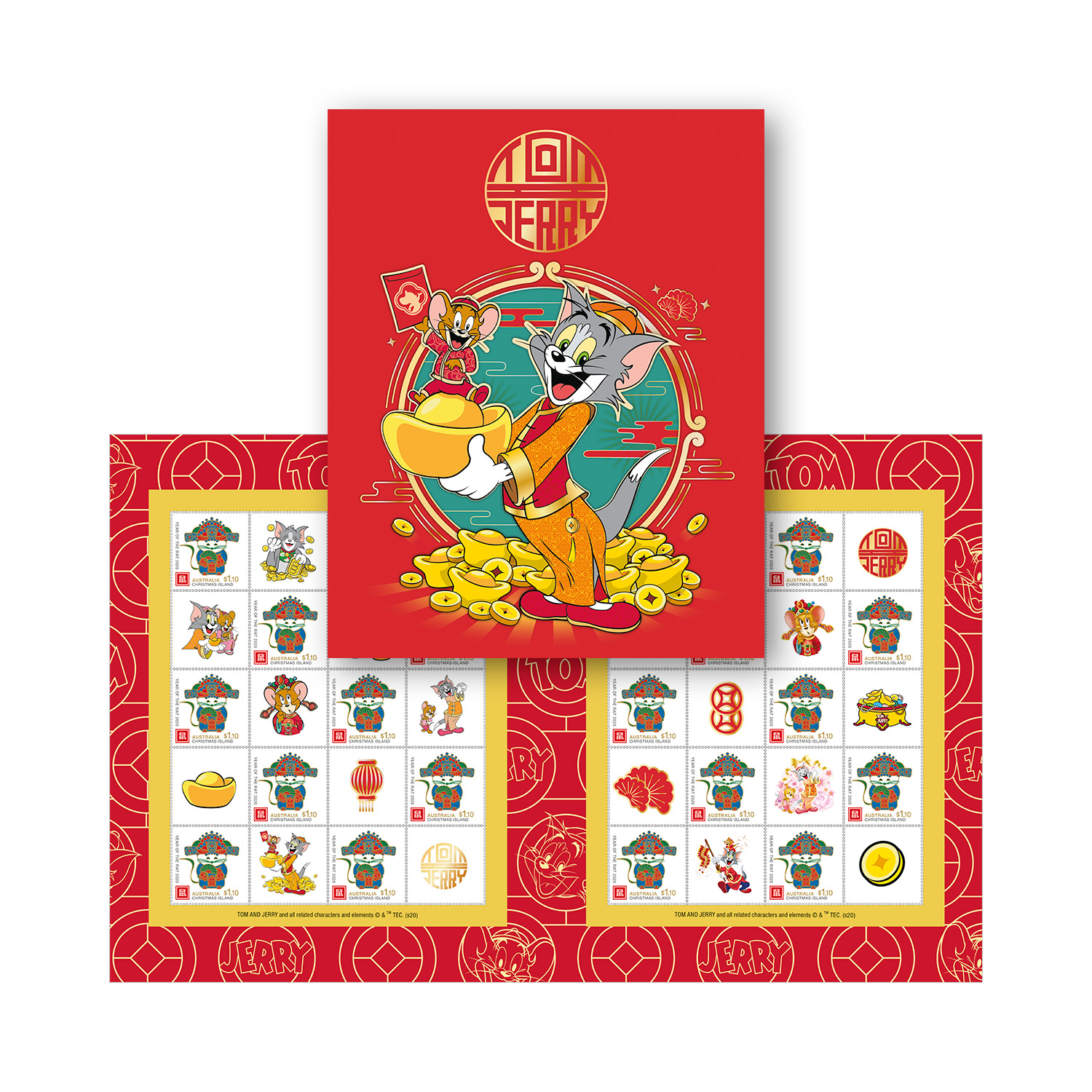 Tom and Jerry stamp pack   Tom and Jerry
