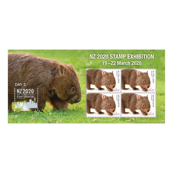 NZ 2020 Stamp Exhibition mint minisheet set product photo Internal 3 DETAILS