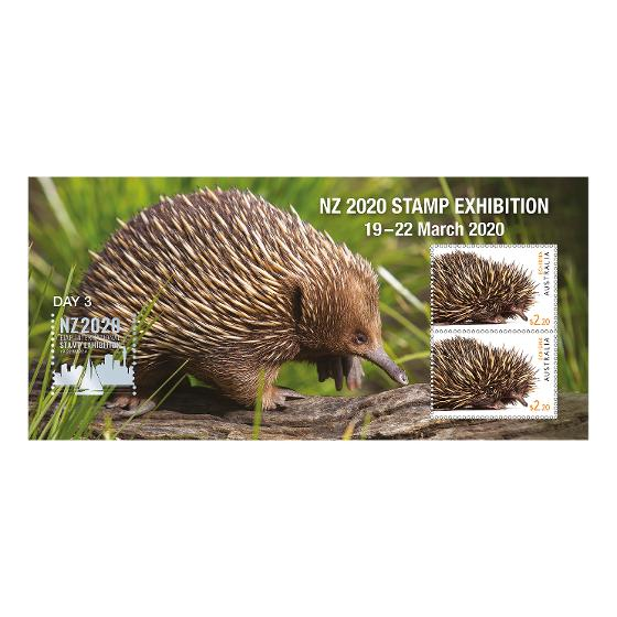NZ 2020 Stamp Exhibition mint minisheet set product photo Internal 4 DETAILS