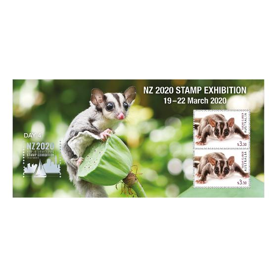 NZ 2020 Stamp Exhibition mint minisheet set product photo Internal 5 DETAILS
