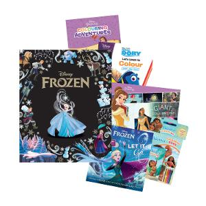 Disney Activity & Book Bundle - Girls (Age: 3-5yrs) product photo