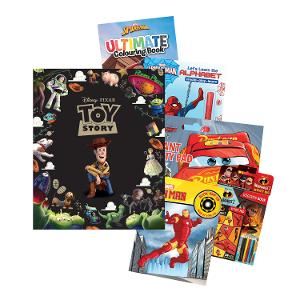 Disney Activity & Book Bundle - Boys (Age: 3-5yrs) product photo