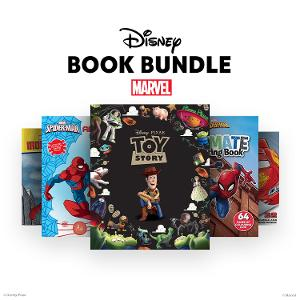 Disney Story & Activity Book Bundle 1 - ages 3-5 yrs product photo