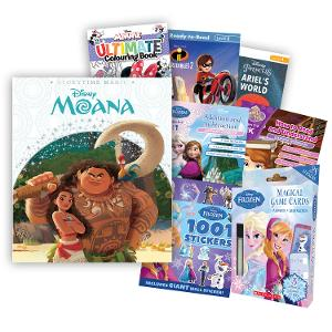Disney Learning, Activity & Book Bundle  - Girls (Age: 5-7yrs) product photo