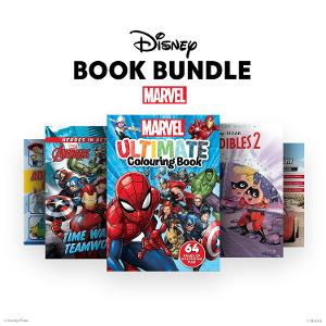 Disney & Marvel Activity Book Bundle 1 - ages 5-7 yrs product photo
